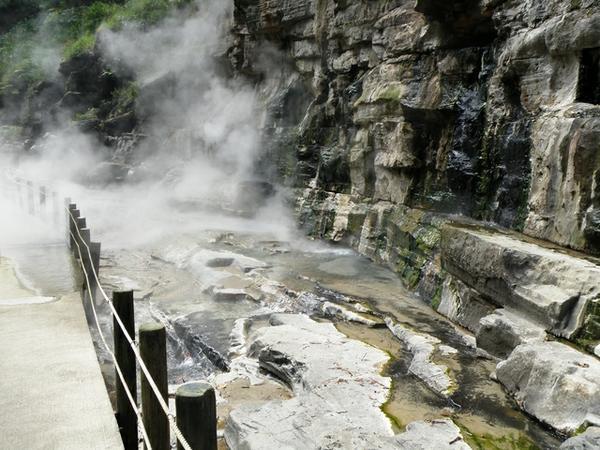 小安峡大噴湯 image