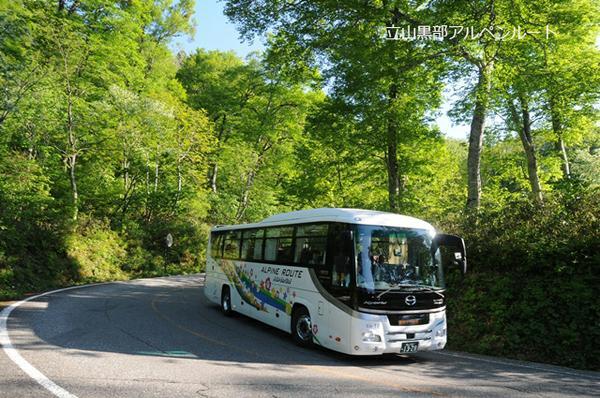 다테야마 고원 버스 image
