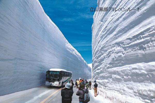 雪の大谷 image