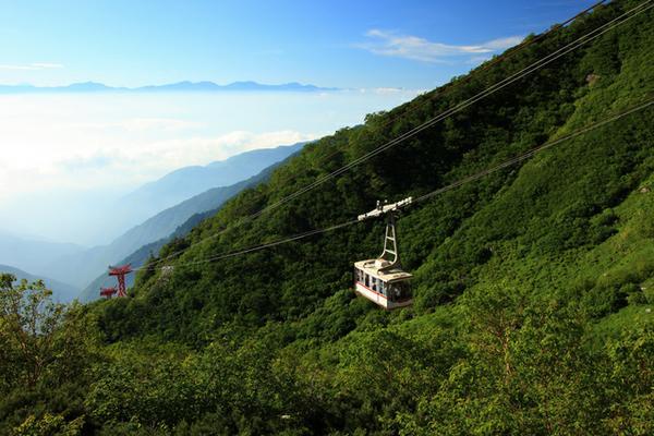 中央アルプス 駒ヶ岳ロープウェイ image