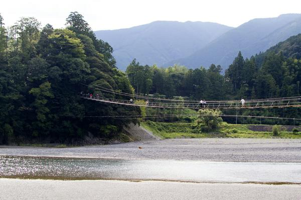 塩郷の吊橋(恋金橋) image
