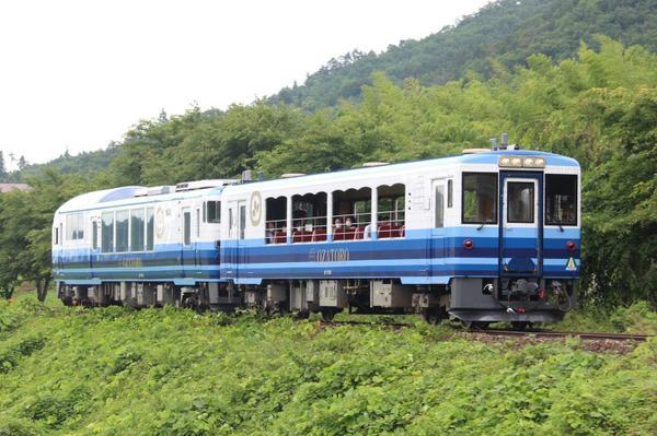 お座トロ展望列車 image