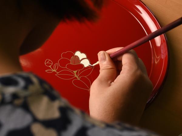 漆器蒔絵体験 image