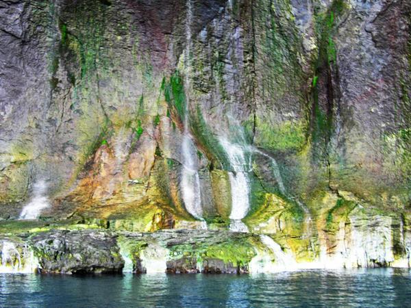 湯の華の滝(男の涙) image