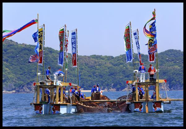 福山・鞆の浦 観光鯛網 image