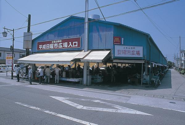 土佐山田町平成日曜市 image
