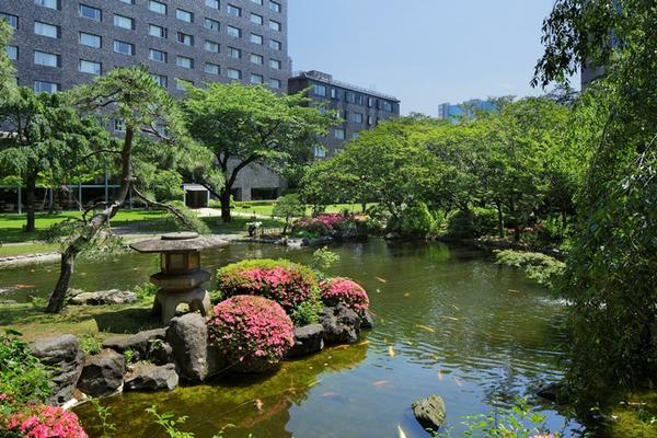 그랜드 프린스 호텔 다카나와 일본정원 image