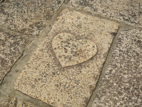 ハートの石畳 image
