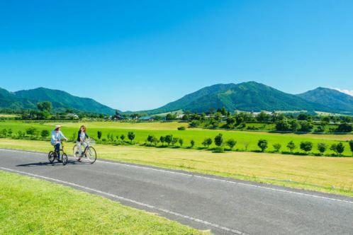 Hiruzen-Kogen Heights Cycling Route image