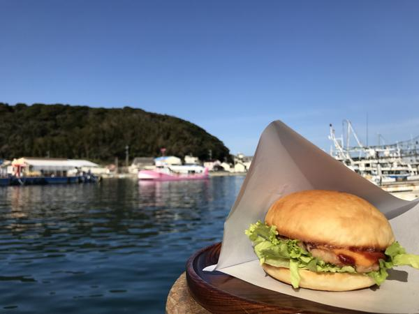 呼子名物 魷魚漢堡 image