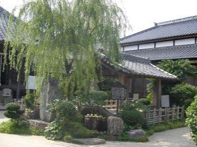 柳と井戸(湘江庵) image