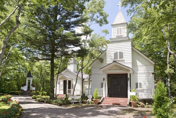 輕井澤白樺高原教會 image
