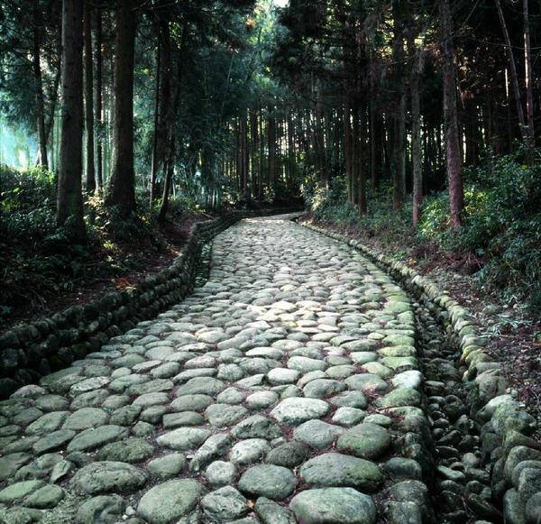 旧東海道金谷坂石畳と石畳茶屋 image