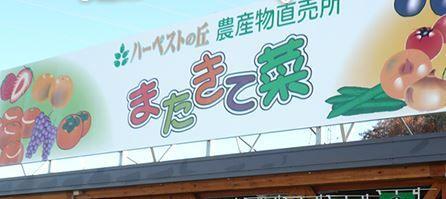 ハーベストの丘 農産物直売所「またきて菜」 image
